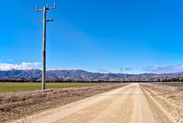 Old Maori Road, Central Otago, New Zealand, Copyright Chris Gregory 2011