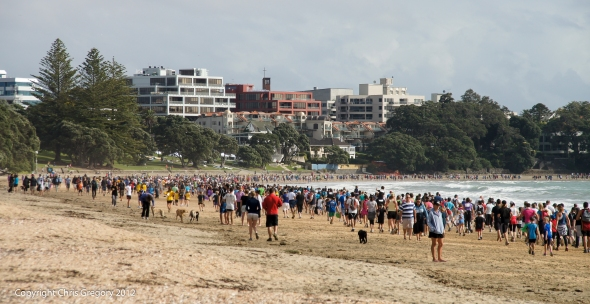 Shore to Shore, Takapuna, Fun Run, Auckland, New Zealand, Copyright Chris Gregory 2012