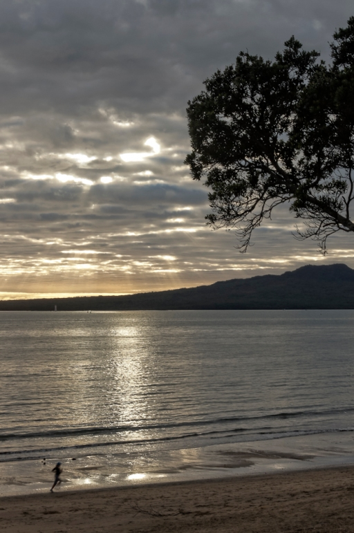Takapuna Beach, Rangitoto Island, Auckland, New Zealand, Copyright Chris Gregory 2012