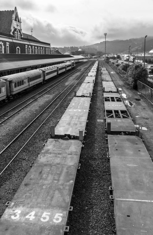 3455 - Vanishing Point, Dunedin Railway Station, Otago, New Zealand, Copyright Chris Gregory 2012