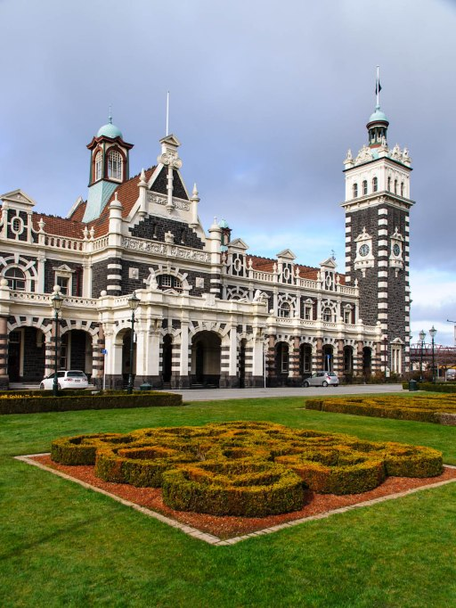 Dunedin Railway Station, Dunedin, Otago, New Zealand, Copyright Chris Gregory 2012