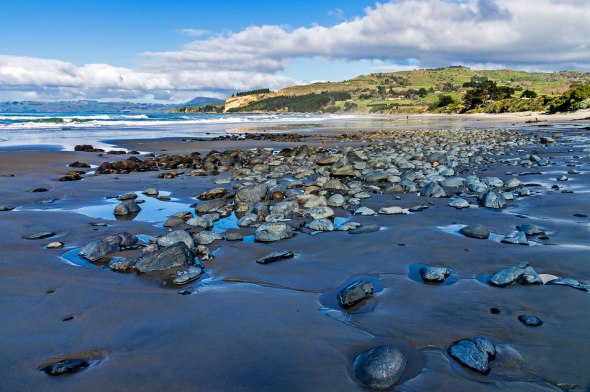Karitane Beach, Otago, New Zealand, Copyright Chris Gregory 2012
