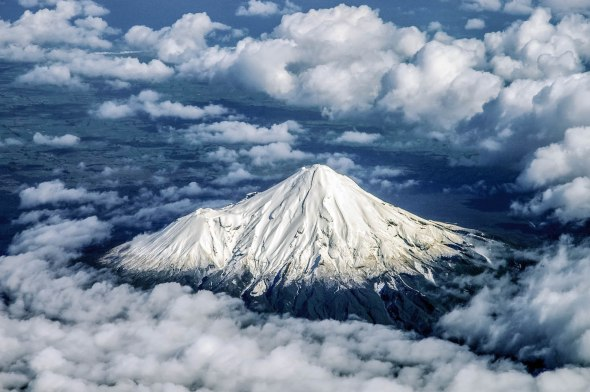 Mt Taranaki, Mt Egmont, Taranaki, New Zealand, Copyright Chris Gregory 2012