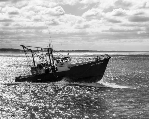 Lady Jocelyn, Gold Coast Seaway, Southport Spit, Queensland, Australia, Copyright Chris Gregory 2012
