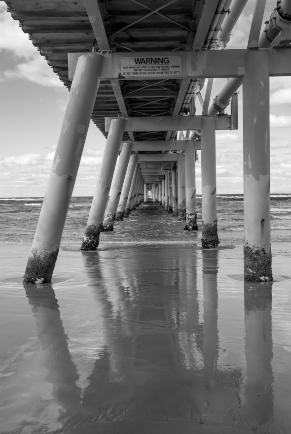 Gold Coast Sand Pumping Jetty, Southport Spit, Queensland, Australia, Copyright Chris Gregory 2012