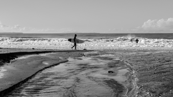 Surf, Takapuna Beach, North Shore, Auckland, New Zealand, Copyright Chris Gregory 2012