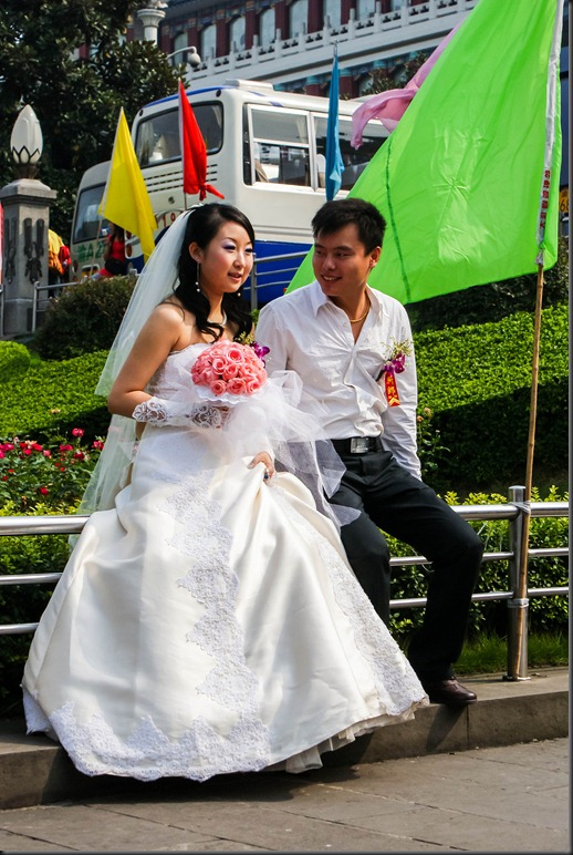 Bride & Groom in Chongquing, China, Copyright Chris Gregory 2008