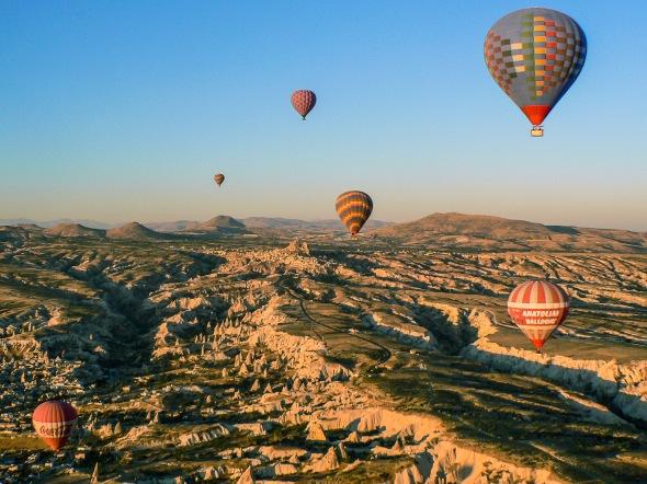 Hot Air Balloon, Cappadocia, Turkey, Copyright Chris Gregory 2012