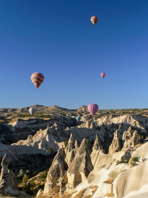 Hot Air Balloons, Cappadocia, Turkey, Copyright Chris Gregory 2012