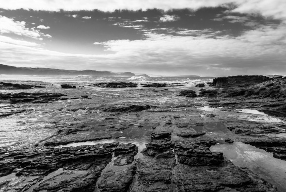 Rocks at Porpoise Bay, Catlins, Southland, New Zealand, Copyright Chris Gregory 2012