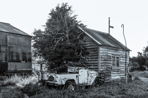 Abandoned in Venice Street, Martinborough, Wairarapa, New Zealand, Copyright Chris Gregory 2012