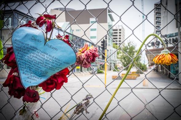 Dear Adam, Christchurch Earthquake, Christchurch, New Zealand, Copyright Chris Gregory 2012