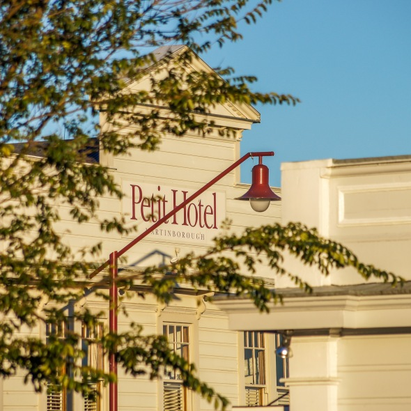 Petit Hotel, Martinborough, Wairarapa, New Zealand, Copyright Chris Gregory 2012