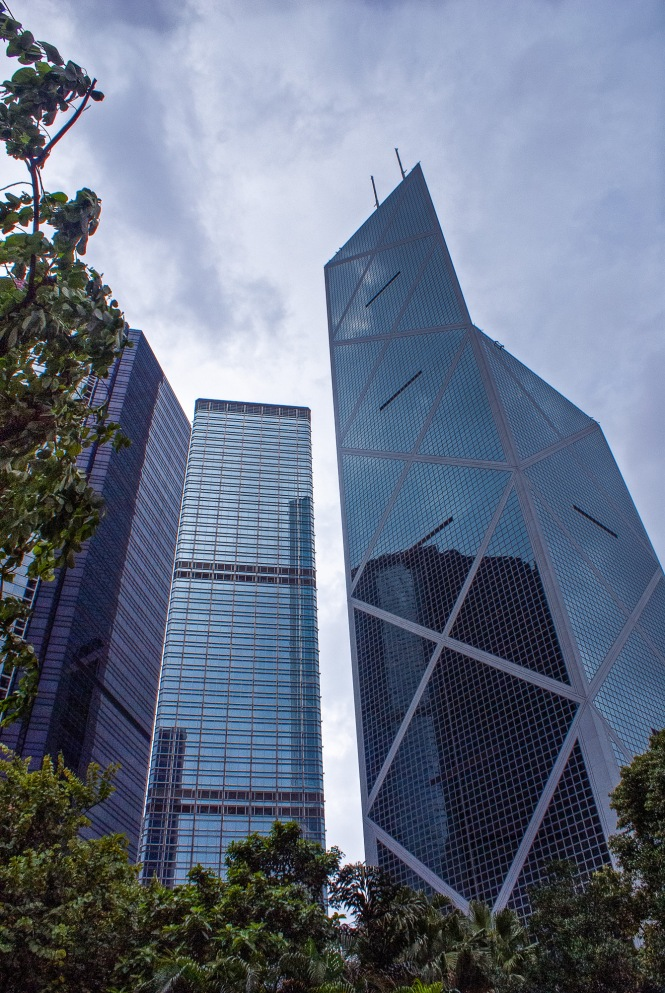 Bank of China Tower, Hong Kong, China, Copyright Chris Gregory 2012