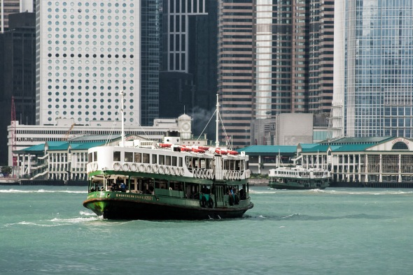 """Northern Star"" Star Ferry, Central, Hong Kong, China, Copyright Chris Gregory 2012"