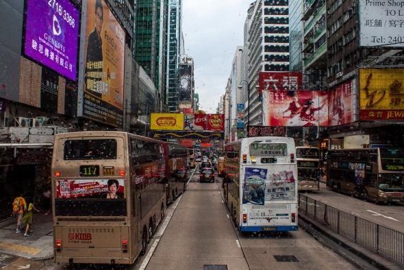 Hong Kong Street 2, Hong Kong, China, Copyright Chris Gregory 2012