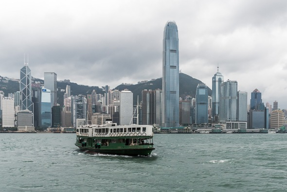 Morning Star crossing from Central, Hong Kong, China, Copyright Chris Gregory 2012
