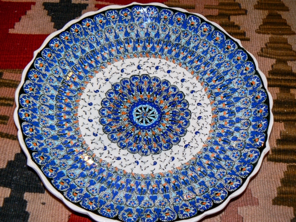 Blue Plate, Capadoccia, Turkey, Copyright Chris Gregory 2013
