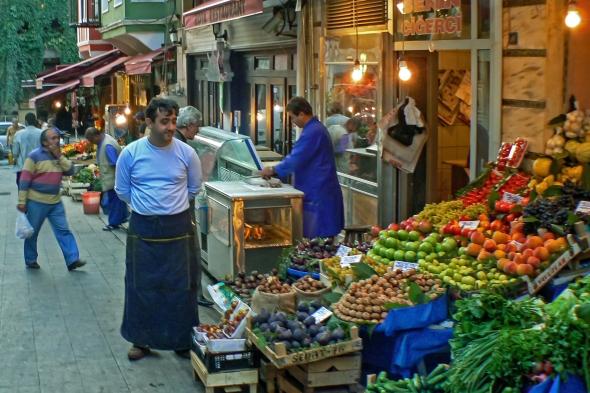 Pride, Istanbul Street Market, Turkey, Copyright Chris Gregory 2013