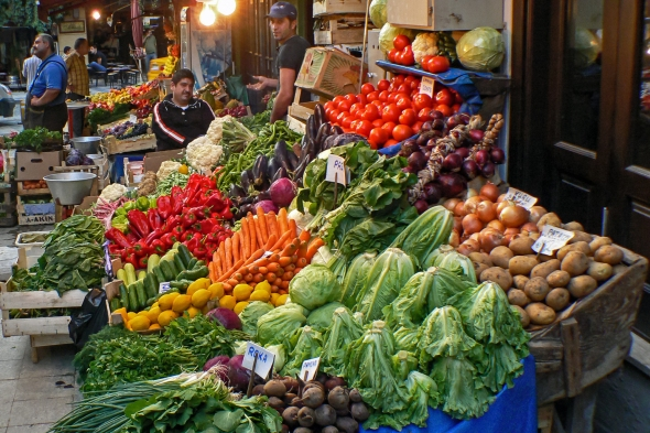 Waiting, Istanbul Street Market, Turkey, Copyright Chris Gregory 2013