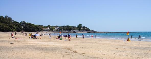 Kiwi Summer 1, Takapuna Beach, Auckland, New Zealand, Copyright Chris Gregory 2013