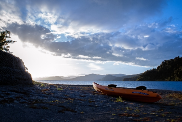 Lake Waikaremoana, New Zealand, Copyright Chris Gregory 2013