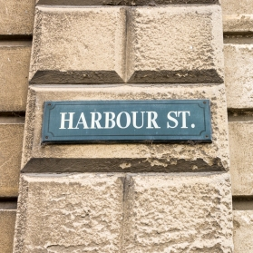Harbour Street, Oamaru, New Zealand, Copyright Chris Gregory 2013