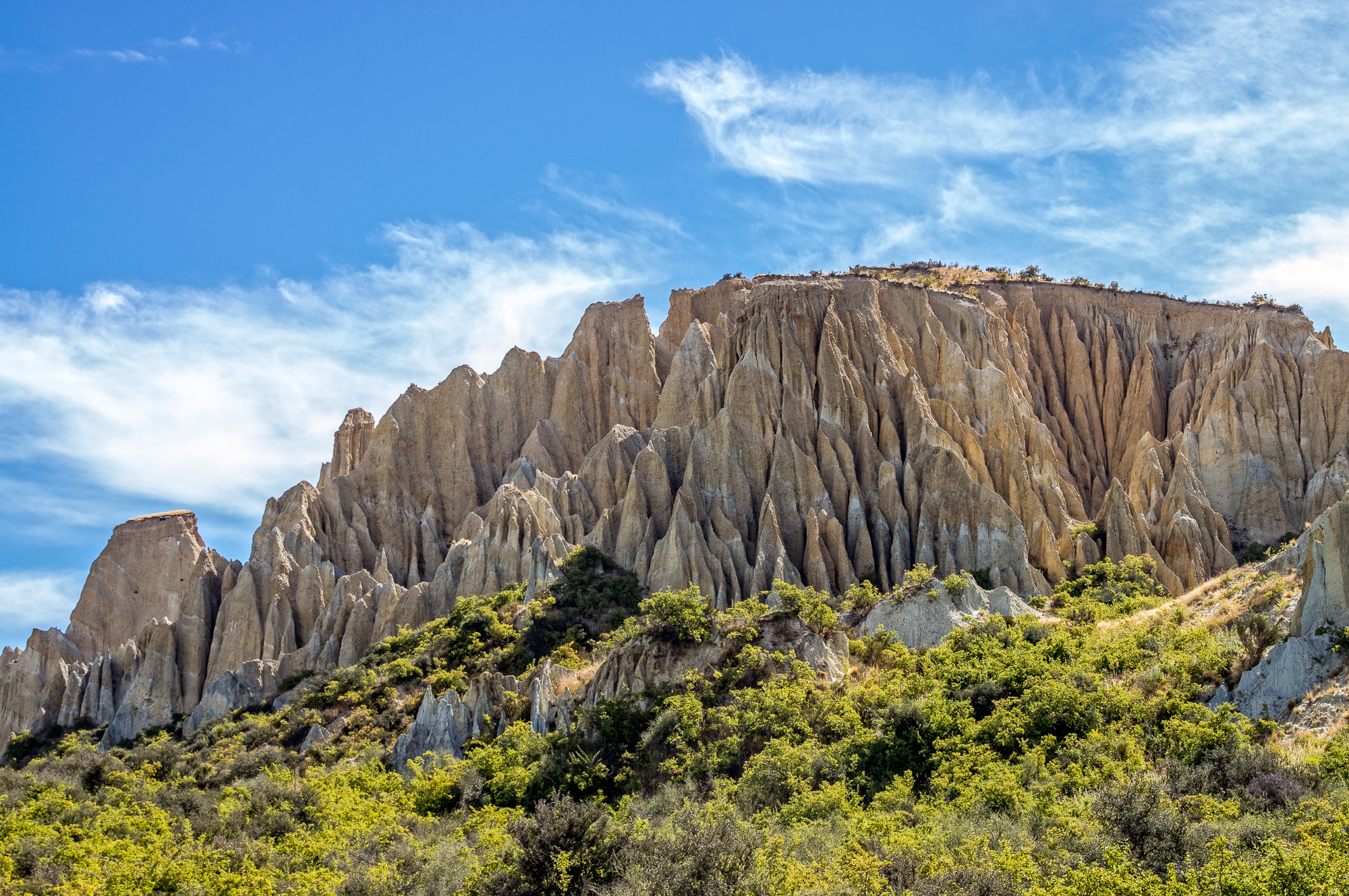 Omarama New Zealand  city pictures gallery : Clay Cliffs, Omarama, New Zealand, Copyright Chris Gregory 2013