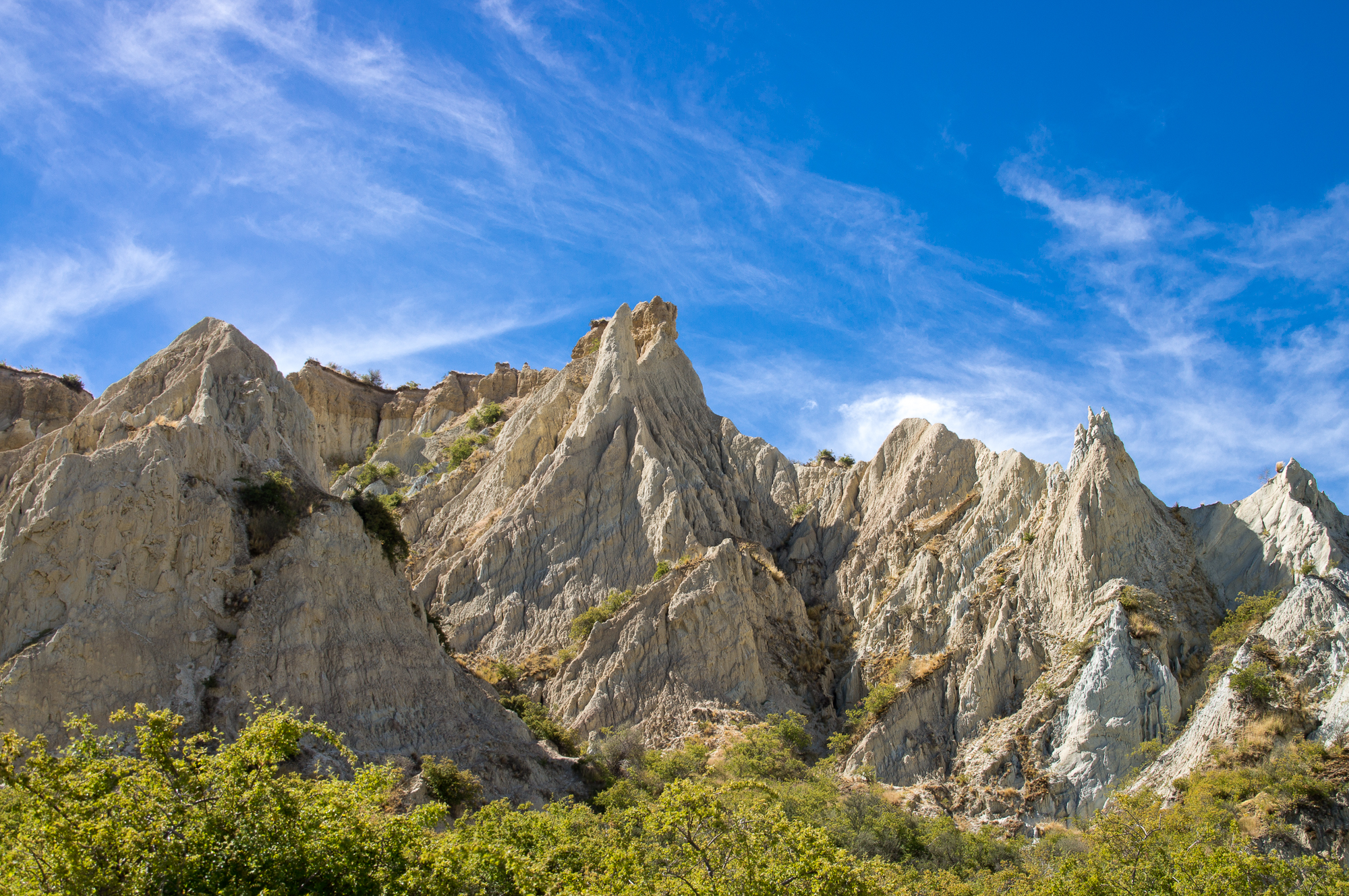 Omarama New Zealand  City pictures : Clay Cliffs, Omarama, New Zealand, Copyright Chris Gregory 2013