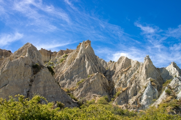 Clay Cliffs, Omarama, New Zealand, Copyright Chris Gregory 2013