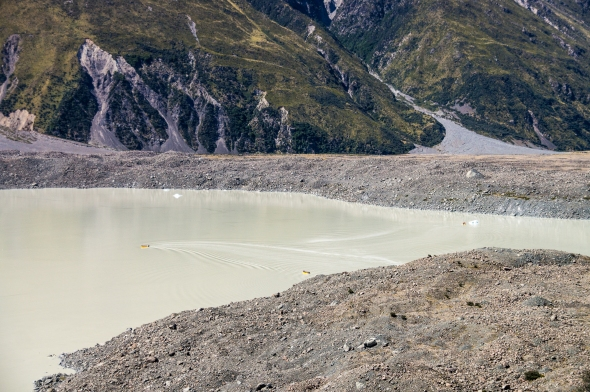 Glacier Lake, Tasman Glacier, Aoraki Mt Cook, New Zealand, Copyright Chris Gregory 2013