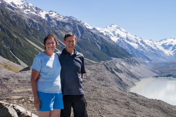 45 Years On, Tasman Glacier, Aoraki Mt Cook, New Zealand, Copyright Chris Gregory 2013