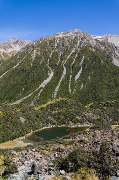 Blue Lakes, Tasman Valley, Aoraki Mt Cook, New Zealand, Copyright Chris Gregory 2013