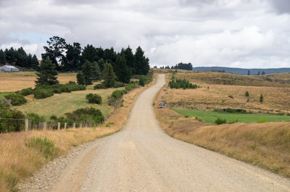 Road to Naseby, Central Otago, New Zealand, Copyright Chris Gregory 2013