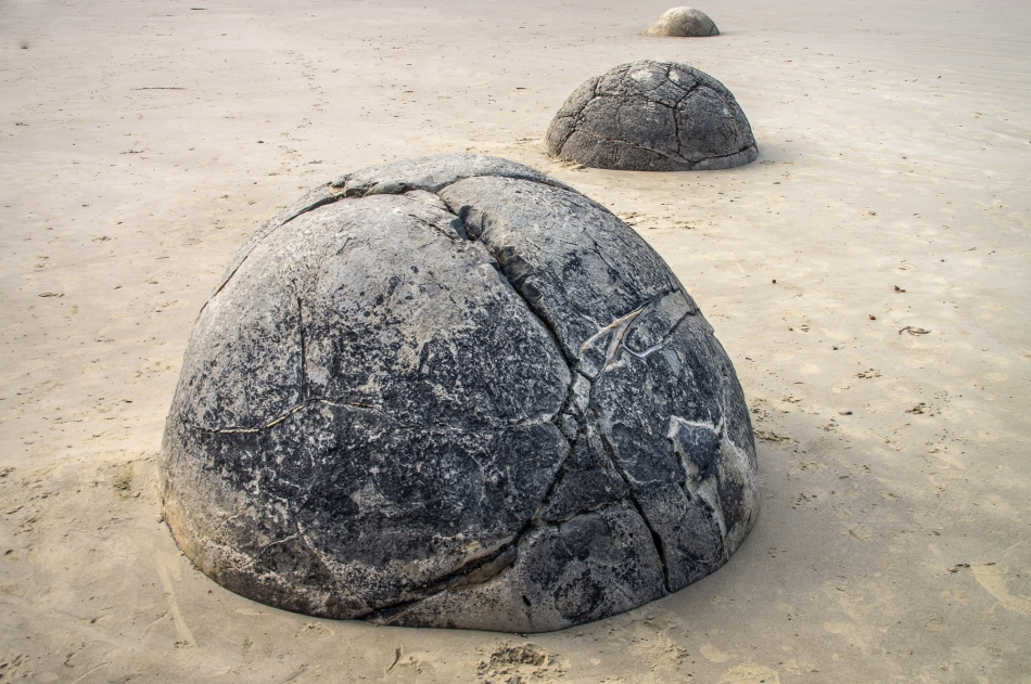 Moeraki Boulders, Otago, New Zealand, Copyright Chris Gregory 2013