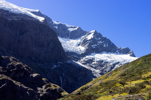 Rob Roy Glacier, Otago, New Zealand, Copyright Chris Gregory 2013