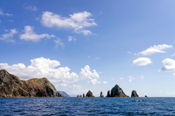 Aguilles Island and Needles Point, Great Barrier Island, New Zealand, Copyright Chris Gregory 2013