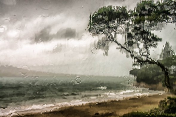 Stormy Morning, Takapuna Beach, Auckland, New Zealand, Copyright Chris Gregory 2013