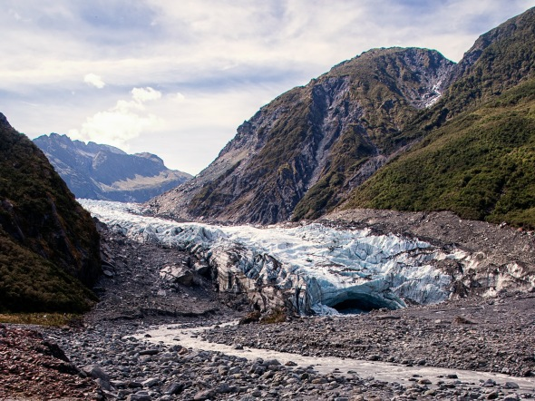 Fox Glacier, Westland, New Zealand, Copyright Chris Gregory 2013