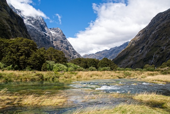 Hollyford Valley, Fiordland, New Zealand, Copyright Chris Gregory 2013