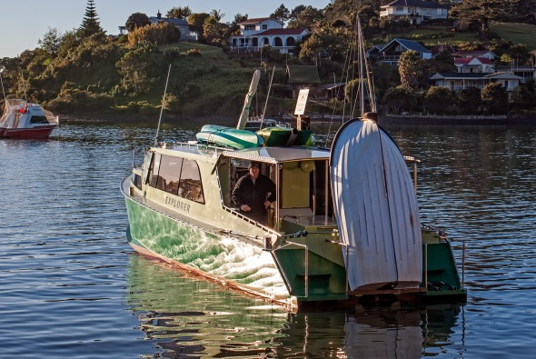 Explorer, Manganui Harbour, Northland, New Zealand, Copyright Chris Gregory 2013