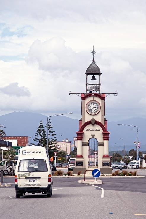 Clock Tower, Hokitika, Westland, New Zealand, Copyright Chris Gregory 2013