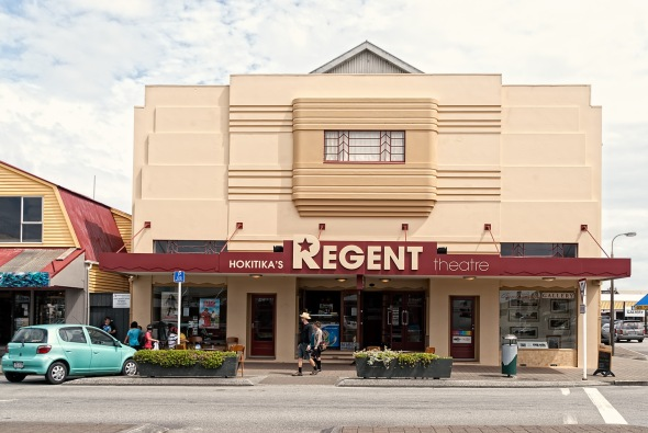 Regent Theatre, Hokitika, Westland, New Zealand, Copyright Chris Gregory 2013