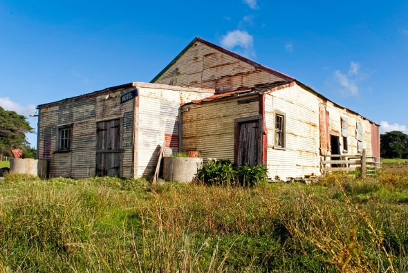 King Bill's Hall, Houhora, Northland, New Zealand, Copyright Chris Gregory 2013