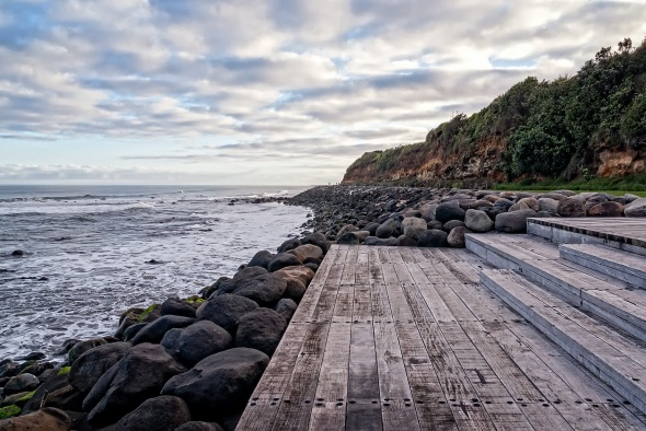 New Plymouth Coastal Walkway, Taranaki, New Zealand, Copyright Chris Gregory 2013